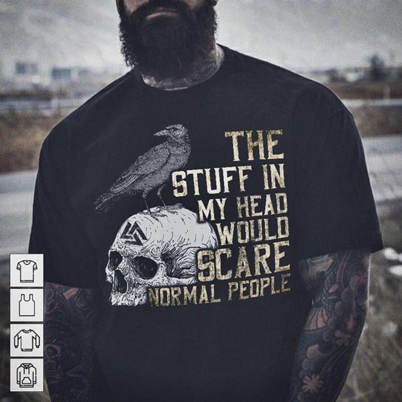 Viking Style Not All Heroes Wear Capes Some Have Beards And Balls Black T Shirt Men And Women S-6XL Cotton