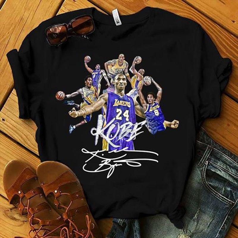 Volleyball Kobe Signature T-shirt Black A8