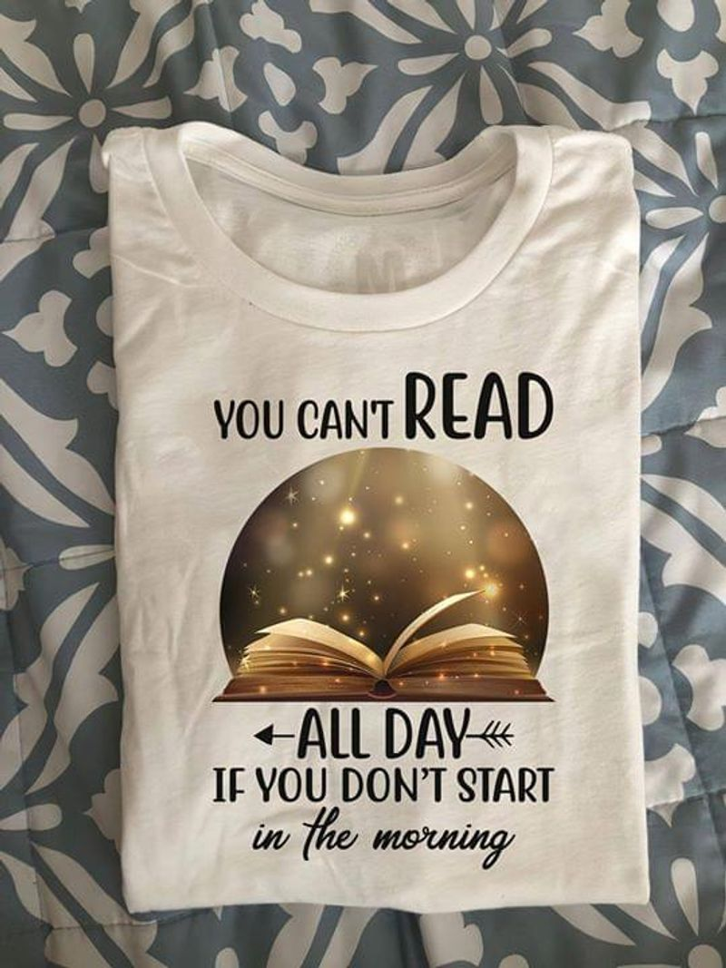 Book Coffee I Don't Read Books To Get Smart Funny Quote Flower White White T Shirt Men And Women S-6XL Cotton